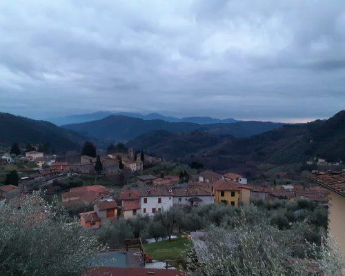 Utsikt hus Fiano